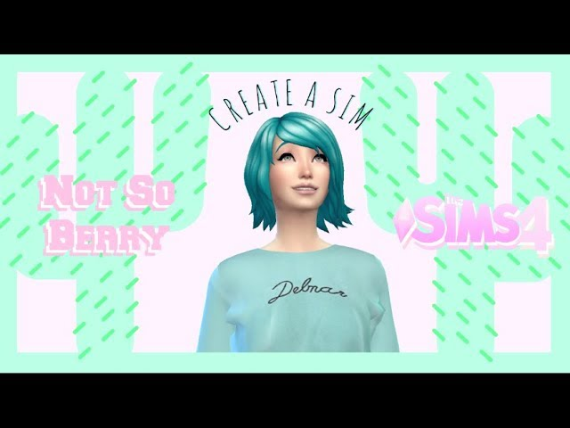 ???? Create a Sim  Not So Berry  ????- The sims 4