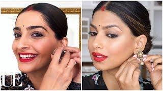 I Followed SONAM KAPOOR's Makeup Tutorial... SHOCKED!