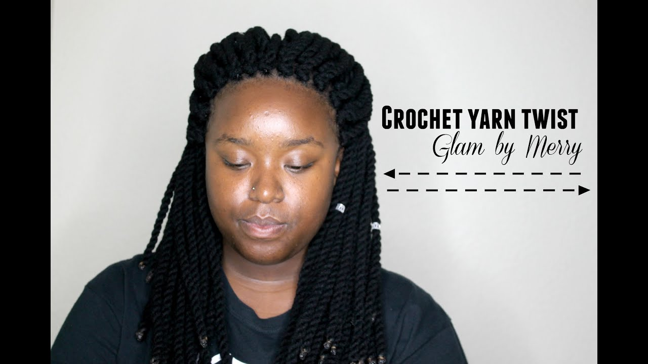 DIY Crochet Yarn Twist Budget friendly Time saving Easy ...