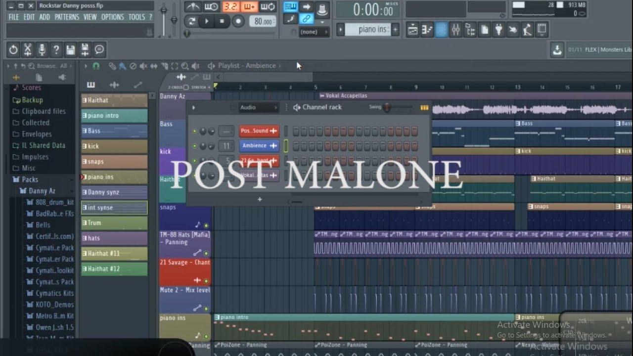 Download Post Malon ft 21 Savage -nRockstar Remake By Dany arfianto Zulfikal