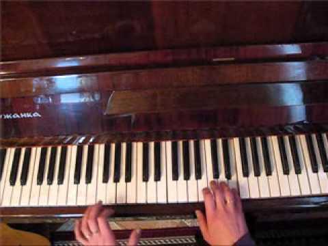 Огонёк. Разбор на пианино. Виктория Юдина