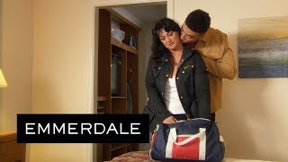 Emmerdale - Moira and Nate Check into Their Hotel Together