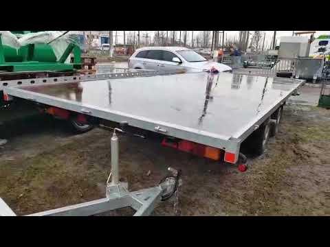 прицеп без бортов платформа легковая 5,1м х 2,15м и 6,1м х 2,2м. в наличии!