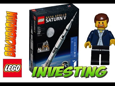 Lego Investing 21309 Apollo Saturn V Rocket