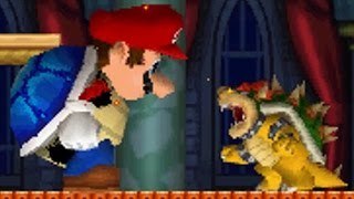 New Super Mario Bros DS - Giant Blue Shell Mario