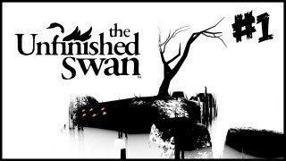 The Unfinished Swan Walkthrough - Part 1 [Chapter 1] The Garden - PS3/PSN