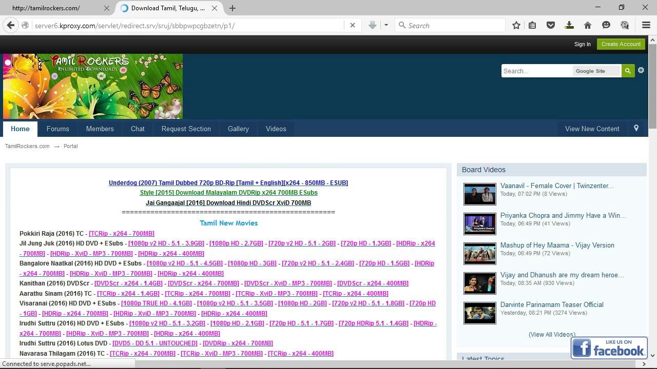TAMILROCKERS COM HOW TO OPEN BLOCKED WEBSITE