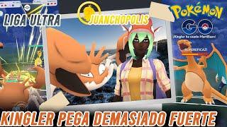 ¡LLEVANDO A KINGLER LEGACY EN LA PREMIER CUP!-Pokémon Go PvP