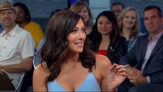 Bachelorette Becca Kufrin speaks out live on