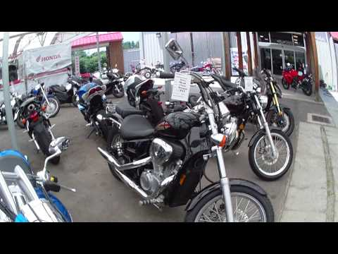 Updated New and Used inventory of outdoor showroom @ Capital Powersports Honda in WF