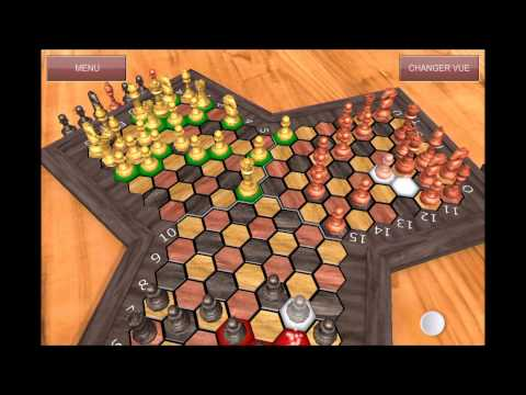Triad-Chess : Demonstration of chess with three players