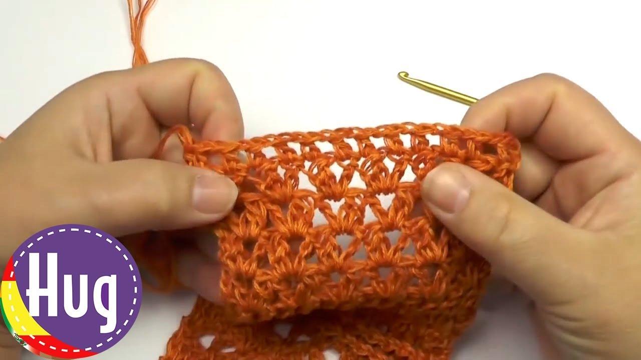 Tejer Crochet tunecino - Patrón número 2 - con lana Woolly Hugs ...