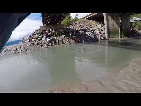Salmon Fishing In Alaska - August 2017