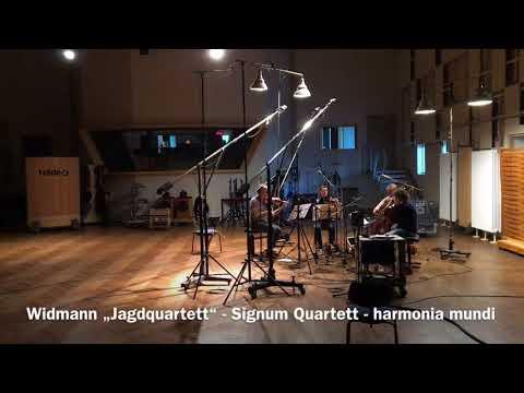 Widmann: Jagdquartett - opening section 1 (Signum Quartet)