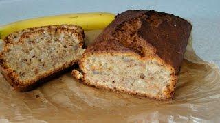 Банановый кекс (хлеб) - пошаговый рецепт приготовления
