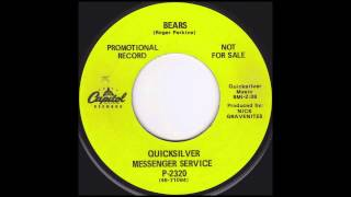 Watch Quicksilver Messenger Service Bears video