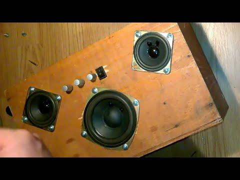 DIY Homemade Boombox 50 watts