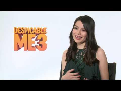 Despicable Me 3 Interview - Miranda Cosgrove