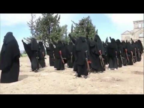 Islamic State using women jihadists to shame men into action