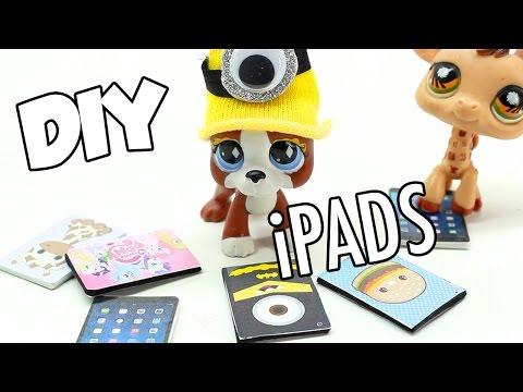 LPS -  DIY miniature iPad Minion, MLP, Adventure Time, Donuts & MORE!