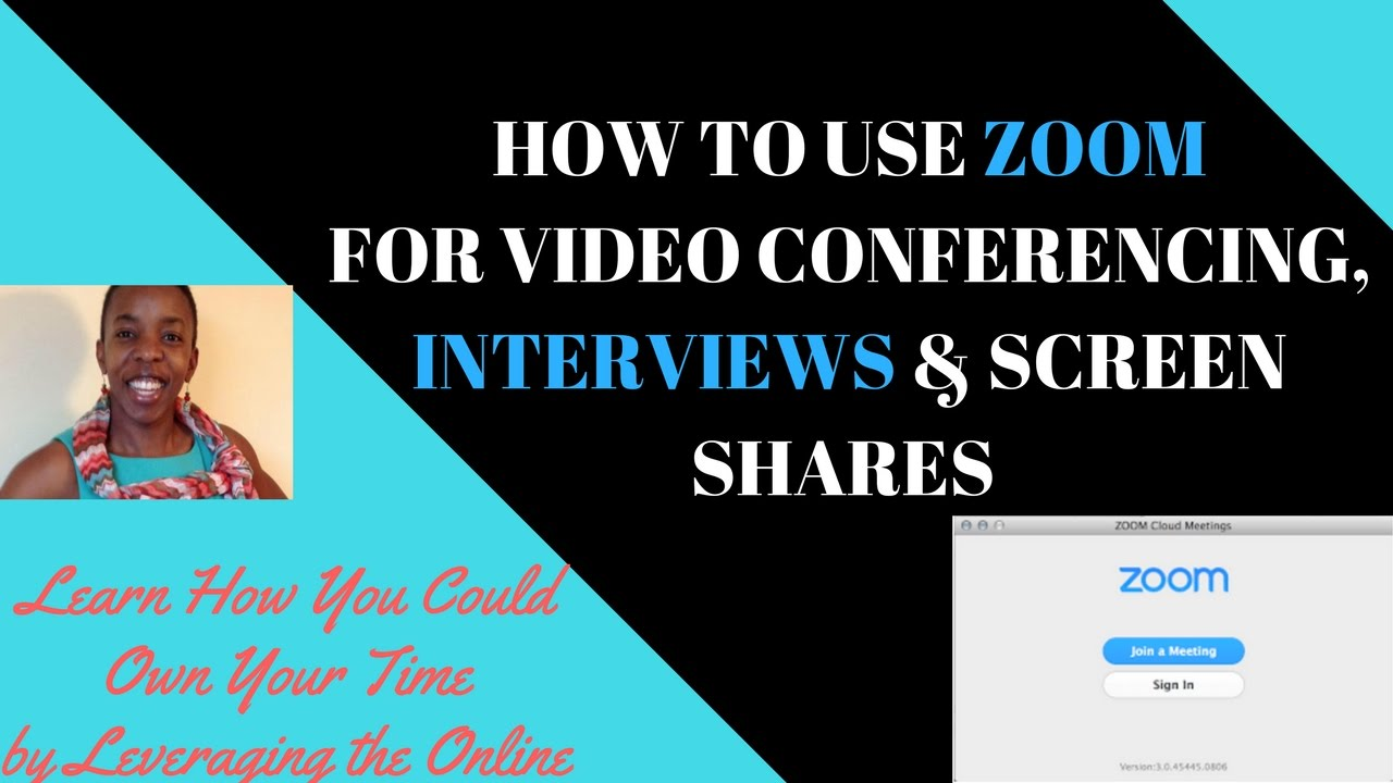 Wonderful How To Use Zoom For Video Conferencing, Interviews, Screen Shares, Record  Videos For Youtube U0026 More