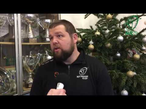 NRTV: Neil Fowkes Appointed New Nottingham Rugby Head Coach - 28/12/17