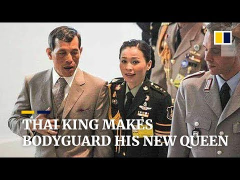 Thai king makes bodyguard his new queen