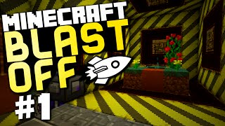 "Minecraft Blast Off Modpack #1 ""Getting Started"" w/ @AcerIskall"