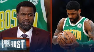 Stephen Jackson: Kyrie's frustration comes from Celtics' lack of urgency | NBA | FIRST THINGS FIRST