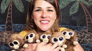Five Little Monkeys - Lolly Hopwood