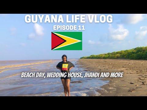 Guyana Beach and Wedding Life VLOG