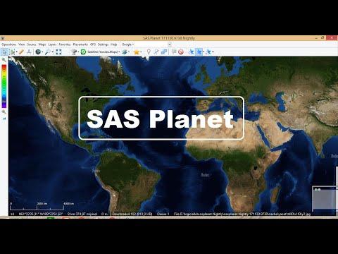 SAS Planet 2020: Télécharger les images satellitaire avec Haute résolution HD