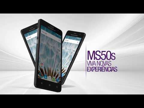 Smartphone Multilaser MS50S Tela 5 8GB Câm 8MP + Frontal 5MP Quadcore
