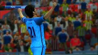 PES 2013 - Manchester United vs Manchester City [Premier League 2016/2017] - Gameplay