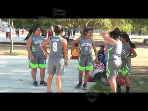 playoffs Liga Municipal de Basquetbol Femenil Oaxaca MVM Deportes