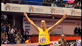 Stefan Holm 2.40m (Indoor ECH Madrid 2005)
