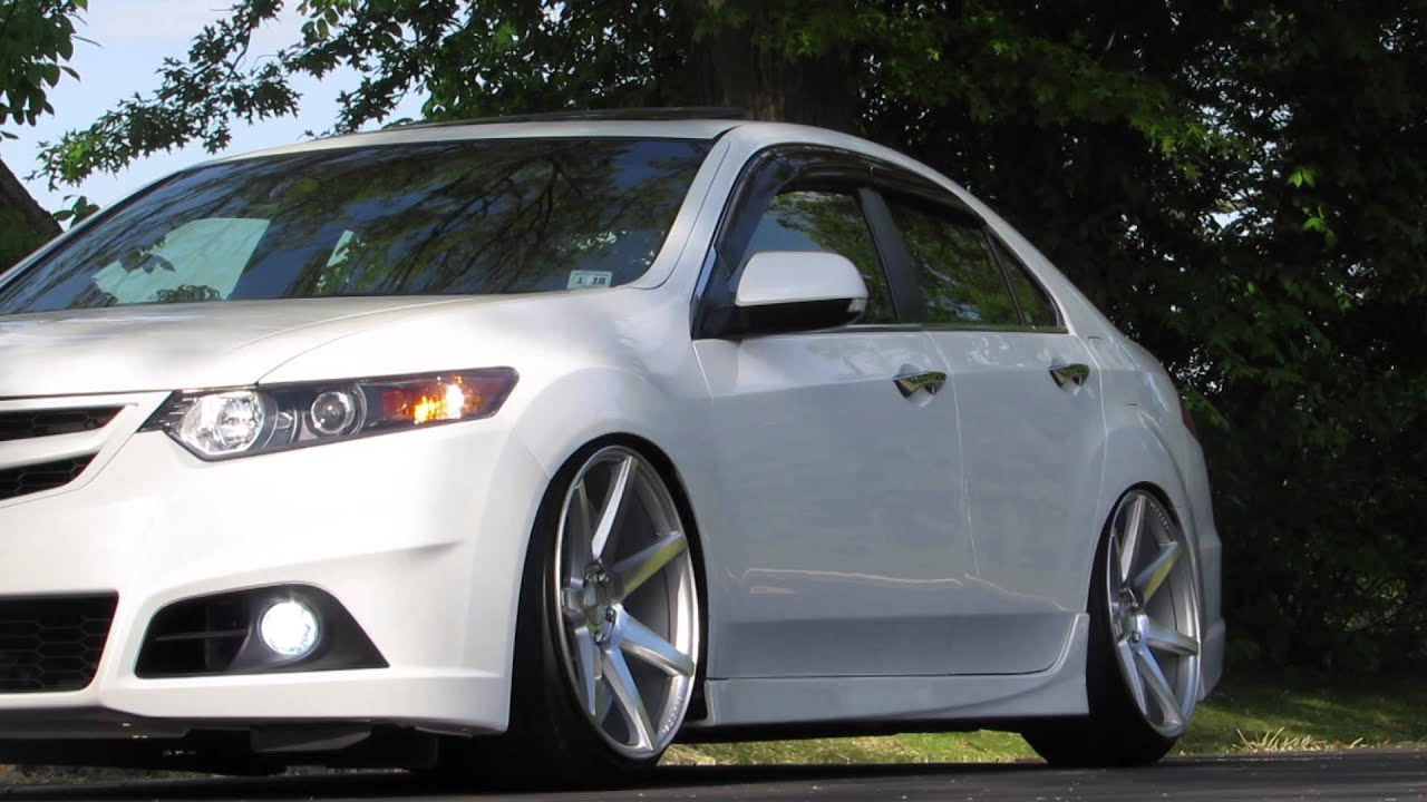 Acura Tl Wheels >> Honda Accord Euro R Vossen-Cv7 - YouTube