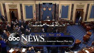 Senate passes $1.9 trillion in COVID relief   ABC News