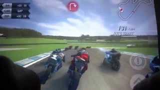 Meu Novo Android - SBK 15 - Melhor jogo de corrida de moto para android - Rodando no moto g