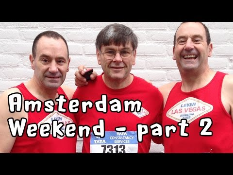 Amsterdam Marathon Weekend part 2 – Marathon Day!
