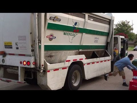 City Of Garland Crane Carrier Labrie Top Select Recycler