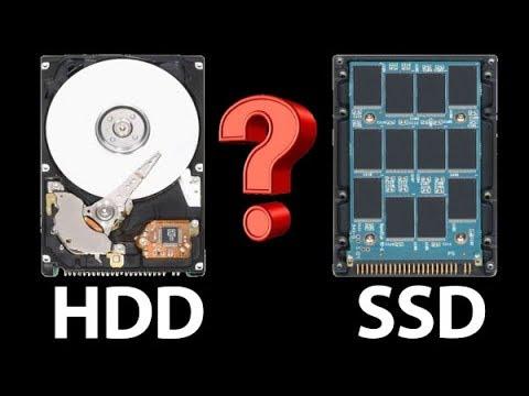 Как узнать какой диск ssd или hdd
