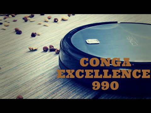 Aspirador CONGA excellence 990 demostración completa