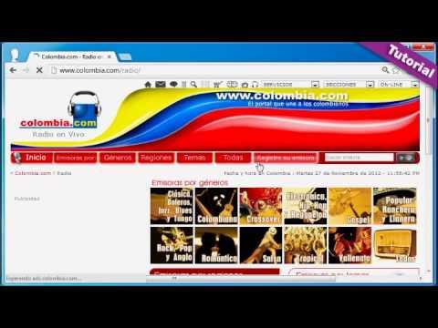 Emisoras en internet de Colombia y todo el mundo