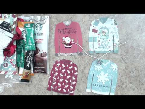 CHRISTMAS | WINTER SHAPED TAG SWAP | REVEAL | GROUP #3