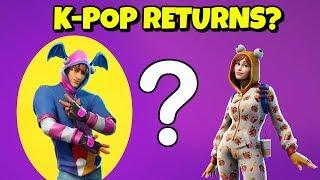 Where is the K-POP SKIN in Fortnite?