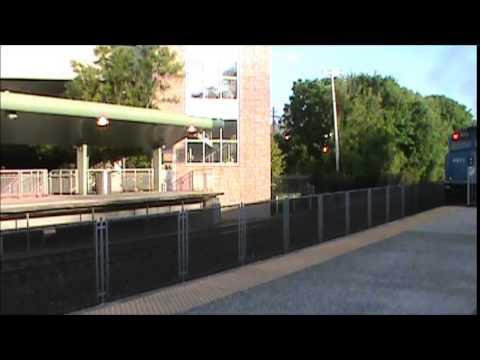 Ramsey, NJ (Ramsey Rt  17 NJ Transit Station) *Evening Rush* - May 26, 2015