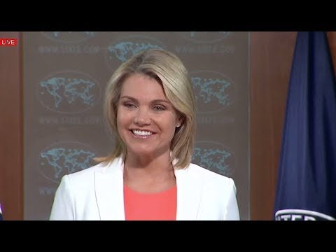 Heather Nauert North Korea US State Department Press Briefing On Russia & China, Donald Trump News