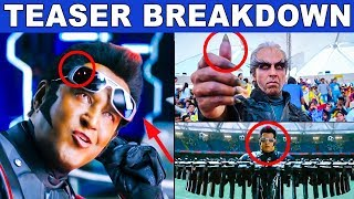 BREAKDOWN : 2.0 - Official Teaser Review | Rajinikanth | Akshay Kumar | A R Rahman | Shankar |