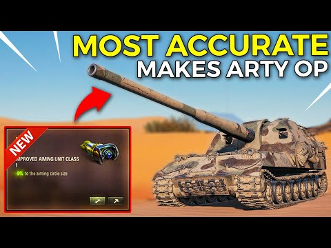 This Makes Artillery Too Good Or Not? | World Of Tanks Overpowered Artillery Equipment 2.0?